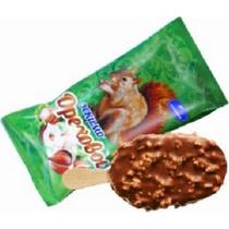 Мороженое пломбир Славица Ореховое с орехами в шоколадной глазури 60 г