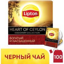 Чай Lipton Heart of ceylon черный