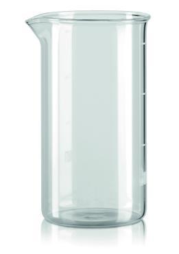 Колба для френч пресс, 350 мл., цвет прозрачный Bialetti, 200 гр., картонная коробка