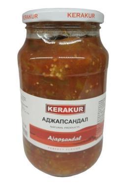 Аджапсандал, Кerakur,980 гр., стекло