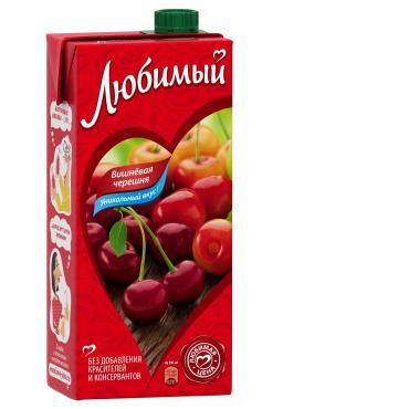 Нектар Вишнёвая черешня,  Любимый Сад, 950 мл., тетра-пак