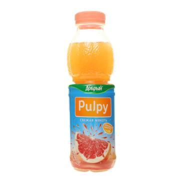 Напиток Добрый Pulpy сокосодержащий грейпфрут 0,45 л