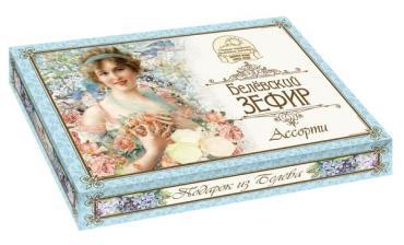 Зефир Белевский Ассорти, Старые Традиции, 410 гр, картон