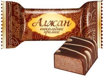 Конфеты Славянка Алжан шоколадное пралине