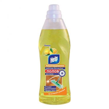 Средство для мытья полов Help Лимон концентрированное