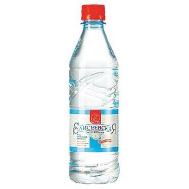 Вода Елисеевская питьевая газированная ,500 мл.,ПЭТ