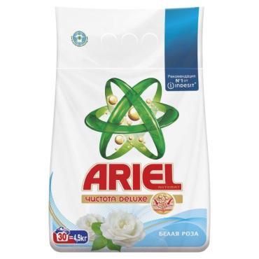 Стиральный порошок Ariel Чистота Deluxe Белая Роза автомат