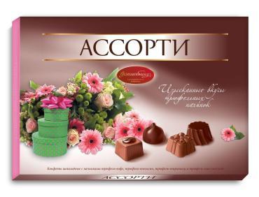Конфеты Волшебница трюфель шоколадные