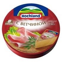 Сыр Hochland плавленый с ветчиной 55%
