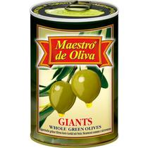 Оливки Maestro de Oliva гигантские с косточкой