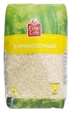 Рис Fine Life длиннозёрный