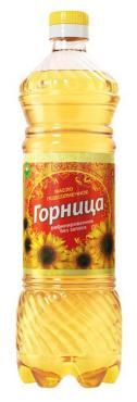 Масло Горница подсолнечное рафинированное дезодорированное