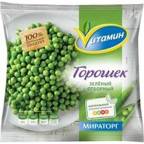 Зеленый горошек Vитамин замороженный