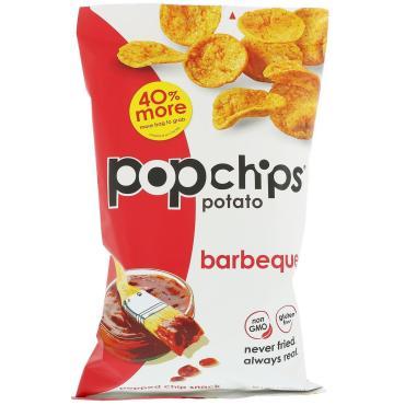 Чипсы PopChips Барбекю