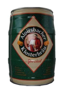 Пиво Alpirsbacher Klosterbraeu spezial 5,2%