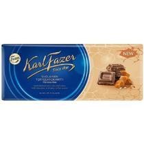 Шоколад Karl Fazer молочный с соленой ириской 200 гр.