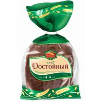 Хлеб Черемушки Достойный ржано-пшеничный формовой половинка нарезанный