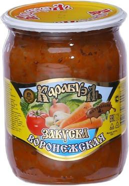 Закуска Карабуэль Воронежская