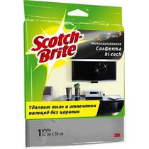 Салфетка Scotch-Brite Hi-tech микроволоконная для оптики и бтовой техники