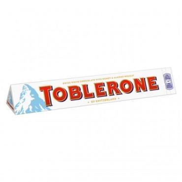 Шоколад Toblerone белый с медово-миндальной нугой