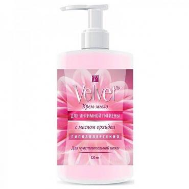 Крем-мыло Velvet для интимной гигиены с маслом орхидеи