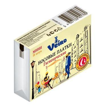 Платочки Viero Мини носовые бумажные двухслойные 10 шт.