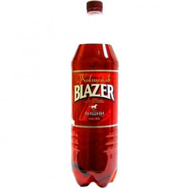 Пивной напиток вишня 6,7%, Blazer, 1,5 л., Пластиковая бутылка