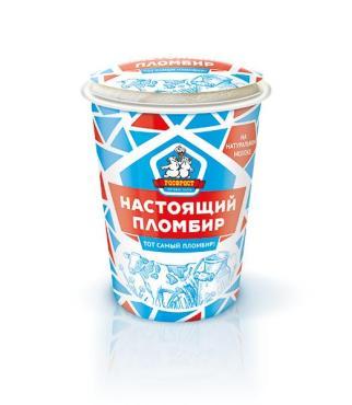 Мороженое Настоящий пломбир