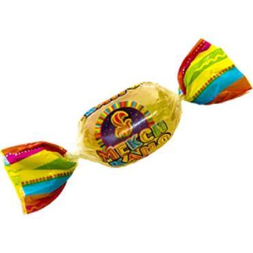 Конфеты Баян Сулу Мексикано карамель, 1 кг., флоу-пак