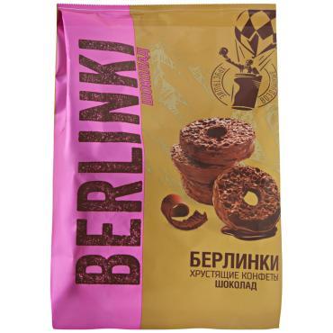 Конфеты Berlinki Хрустящие в шоколадной глазури Шоколад