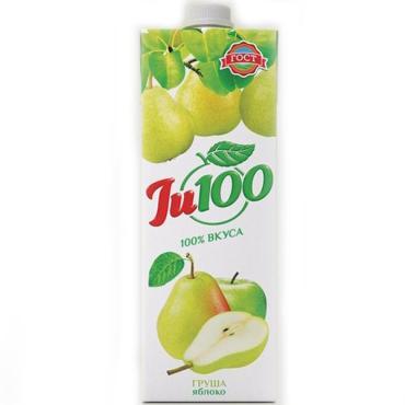 Нектар Ju100 Груша Яблоко с мякотью