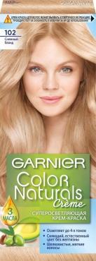 Крем-краска Garnier Color Naturals стойкая 102 Снежный блонд
