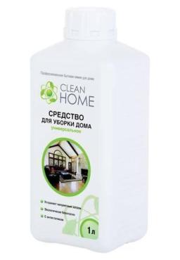 Средство для уборки дома, универсальное, Clean Home, 1 л., Пластиковая бутылка