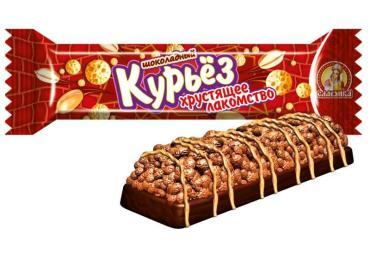 Шоколадный батончик Славянка Курьез