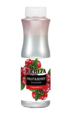 Концентрат RiCHEZA брусника , 1 кг, ПЭТ