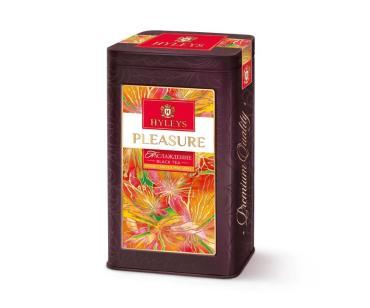 Чай листовой черный с маракуйей, клубникой и сливками Hyleys Tea Moments Pleasure, 80 гр., жестяная банка