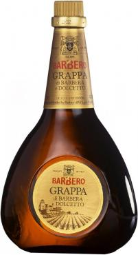 Граппа Barbero Grappa di Barbera e Dolcetto 40% Италия