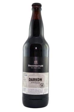 Пиво Braufactum Darkon темное 5.4%