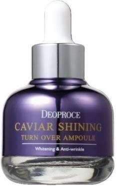 Сыворотка Deoproce для лица с экстрактом икры Caviar Shining Turn Over Ampoule