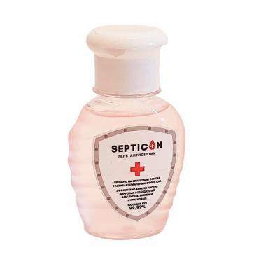 Гель для рук антисептик Septicon спиртовой, 75мл