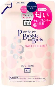 Дезодорирующий гель для душа Shiseido с гиалуроновой кислотой со сладким цветочным ароматом