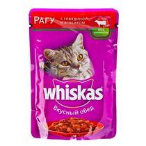 Корм для кошек Whiskas рагу из говядины и ягненка