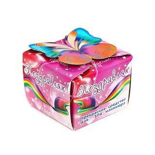 Солевая ванночка для ногтей, укрепляющая Spa by Lara, 40 гр., картонная коробка