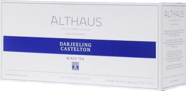 Чай чёрный пакетированный Althaus Darjeeling Castleton 20 пак.