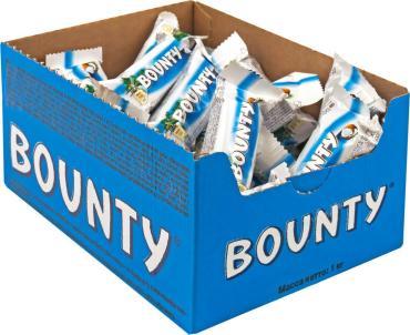 Шоколадный батончик Bounty minis