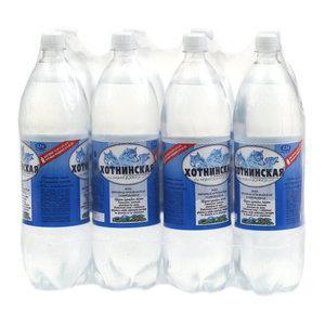 Вода питьевая Хотнинская газированная  1,5 л.