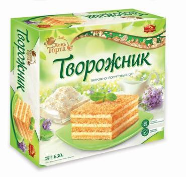 Торт Черемушки Творожно-йогуртовый