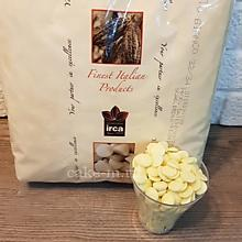 Шоколад белый Irca White Chocolate в дисках 25%, Италия