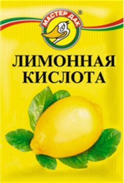 Лимонная кислота Мастер Дак