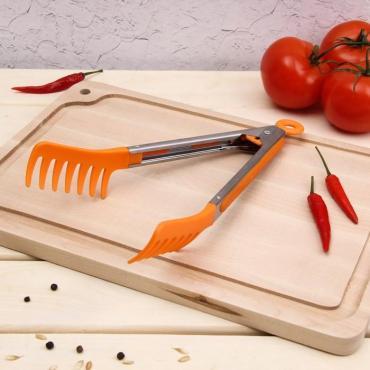 Щипцы для спагетти Доляна Пикник 23 см. микс